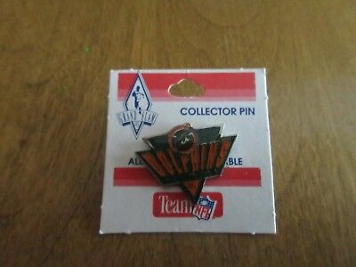 Vintage 1 1/4 inch MIAMI DOLPHINS triangle football nfl