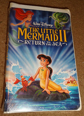 FACTORY SEALED - Little Mermaid II, Return to the Sea (VHS, 2000) - FREE SHIP