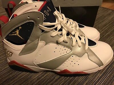 on sale aafef 7fcb0 Nike Air Jordan 7 Retro For The Love Of The Game OLYMPIC FTLOTG size 11
