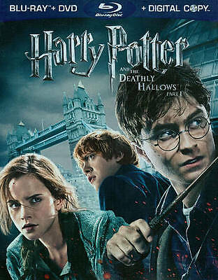 Harry Potter and the Deathly Hallows: Part I 1 (Blu-ray/DVD, 2011, 4-Disc Set)