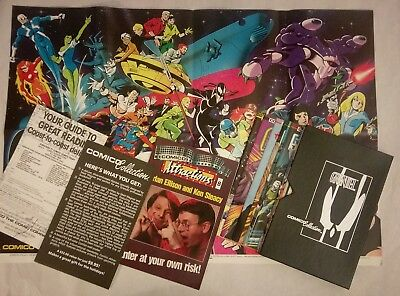 COMICO COLLECTION leather slip cover POSTER & COMICS GRENDEL SILVER EMBOSSED NM