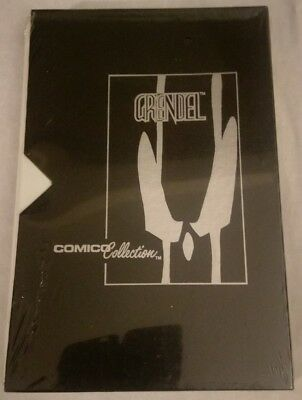 COMICO COLLECTION leather slip cover SEALED with POSTER & COMICS GRENDEL COVER
