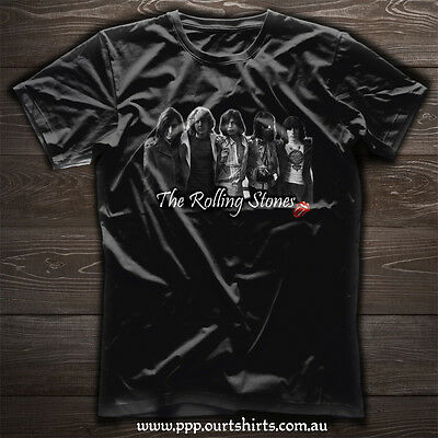 Rolling Stones with Mick Taylor vintage T shirt