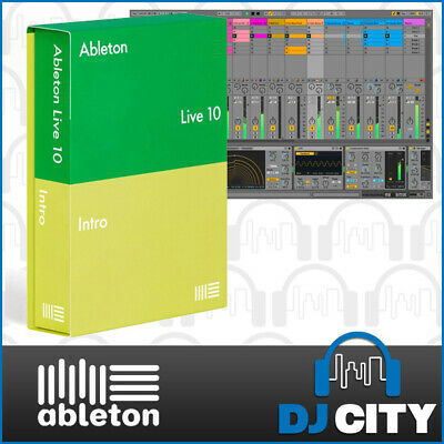 Ableton Live 10 Intro Music Production Software DAW Studio Recording Program