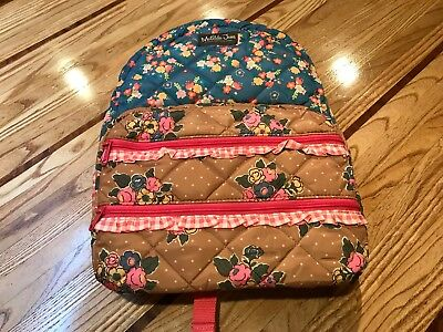Scholarly Me Backpack ~ Matilda Jane ~ New With Tags ~ No Bag ~ Pretty Floral