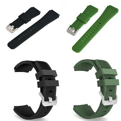 Silicone Bracelet Strap Watch Band For Samsung Gear S3 Frontier/Classic 22mm C