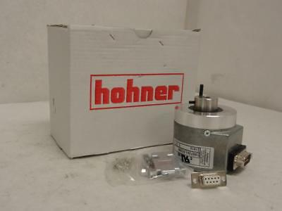 166791 New In Box, Hohner BS73B1.01/360 Encoder, Semi Hollow Shaft, 7mm ID