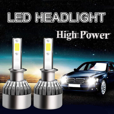h1 100 watt LED Auto-Scheinwerfer-Kit 6000K Lampen Headlight  26000LM