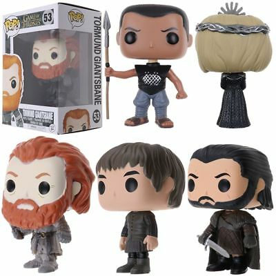 Funko Pop Game of Thrones Jon Snow Grey Worm PVC Vinyl Figure Gift AU