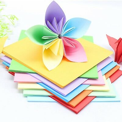 Sheets Origami Paper Folding Double Sided DIY Craft Square Scrapbooking Paper