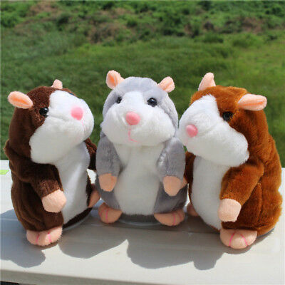 Talking Hamster Mouse Pet Plush Toy Speak Sound Record For Kids Funny Toys Gifts