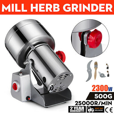 500G Electric Herb Grain Grinder Cereal Mill Powder Grinding Flour Machine