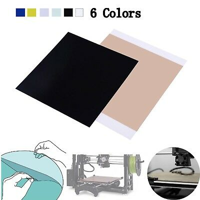300*300*1.0mm PEI Sheet Polyetherimide Build Surface 3D Printer w/ Adhesive Tape