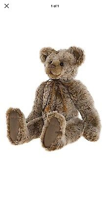 Brand new CHARLIE BEARS - BURMA - 2017 Collection Collectable Jointed Teddy Bear