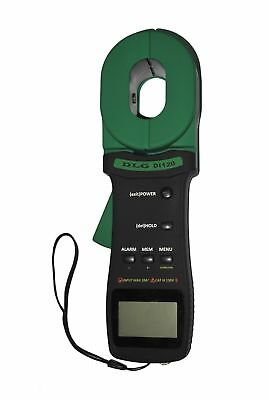 DLG Clamp On Ground Earth Resistance Tester With USB Connection DI-120 New