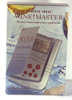 Enthusiastic New Sharper Image Wine Master Nib Other Bar Tools & Accessories