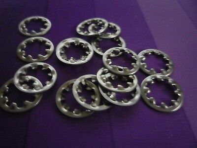 Pack of 50 Assorted M5 M6 M8 M10 M12  SHAKEPROOF WASHERS(Internal) A2 Stainless