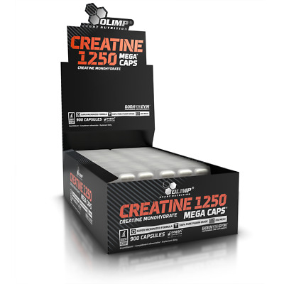 Olimp Creatine Monohydrate 1250 Mg Boost Strenght & Muscles 30/60/90/120 Caps