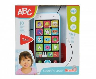 ABC Kinder Smartphone 10 Melodien 15 Sounds Simba