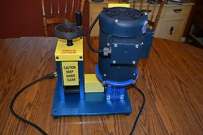 Rack-A-Tiers Model CWS-2 Part# 47200 Wire stripping machine Pre-owned.
