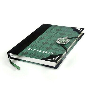 HARRY POTTER Diario Originale CASA SERPEVERDE Ufficiale NOBLE Diary SLYTHERIN