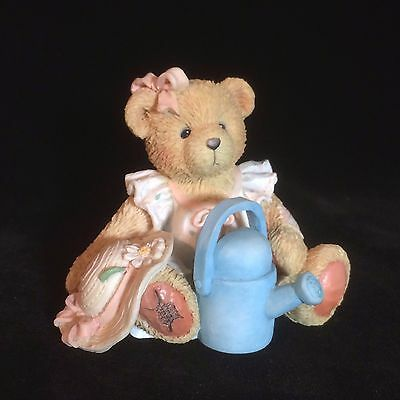 Cherished Teddies Birthday Bear June #914800  - June - Planting The Seeds...
