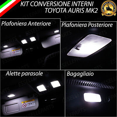 KIT LED INTERNI TOYOTA CHR C-HR KIT DI CONVERSIONE COMPLETA 6000K NO ERROR