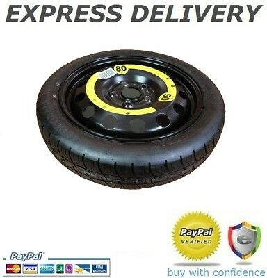 2x Emergency Compact Spare Wheel Alt for VW Flat Repair Space Saver