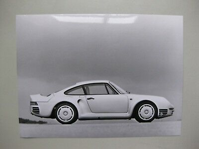 Porsche 959 Werkfoto Press Photo Presse Foto Original 1986 no brochure/Prospekt