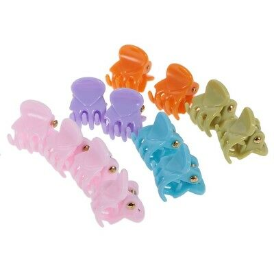 (4) - MagiDeal 12 Pieces/ Lot Wholesale Mixed Colour Lady Girl Mini Hair Resin