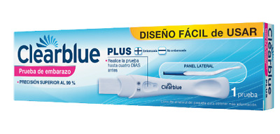 Test Embarazo  CLEARBLUE PLUS PACK 2 UDS