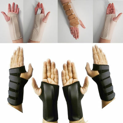 Breathable Wrist Support Splint Sprain Strain Injury Carpal Tunnel Pain Support