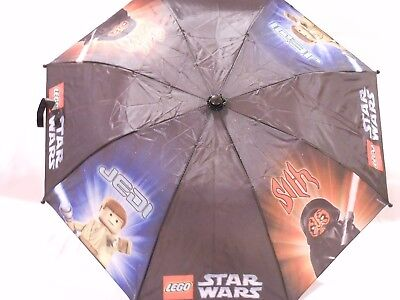 Lego Star Wars Characters Children's Umbrella with Cover NEW with Tags