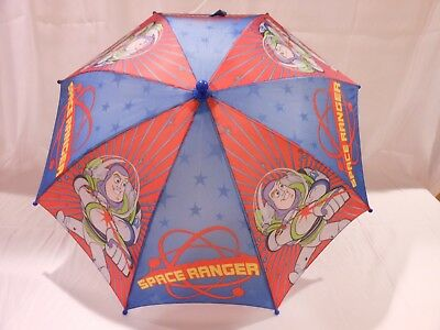 Toy Story Buzz Lightyear Space Ranger Children's Umbrella NEW with Tags