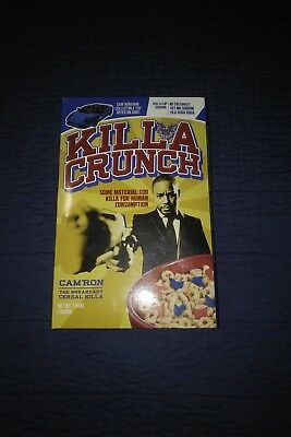 Cam'ron Killa Crunch Cereal Box With T-shirt Dipset