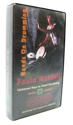 Paulo Mattioli - Hands On Drumming Session 1 - Drum Instruction Rare VHS 1996