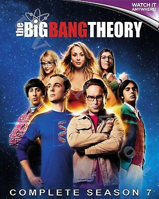 THE BIG BANG THEORY - COMPLETE SEASON 7 * Digital HD Ultraviolet UV Code ONLY
