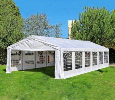 20' x 40' White Outdoor Gazebo Canopy Wedding Party Tent Removable Walls US HOT