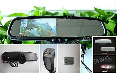 """Auto dimming rear view mirror + 4.3"""" LCD display, fits Citroen,Peugeot ,etc"""