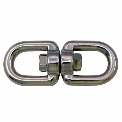 T316 Stainless Steel Marine Grade Swivel Eye/Eye, 5/16""