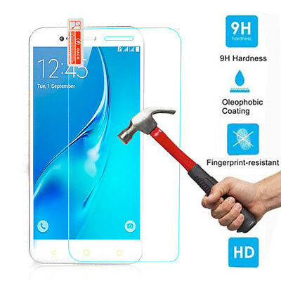 Premium Tempered Glass Screen Protector Film Cover Case For Vodafone Smart Phone
