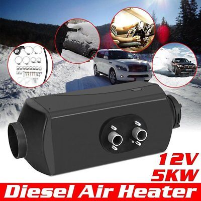 5kW 12V Air Diesel Heater Planar 2xVent Duct For Car Trucks Motor Home Boat Bus