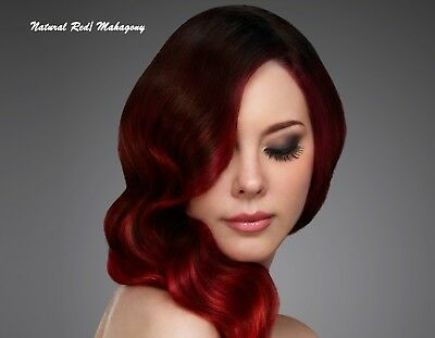 Henna Hair Dye Red Wine Mahagony Natural Color Powder Conditioner Chemical Free