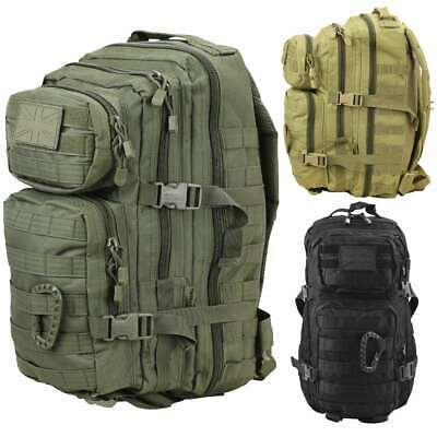 Kombat MOLLE Assault Pack 28L Army Tactical Recon Backpack Military Rucksack