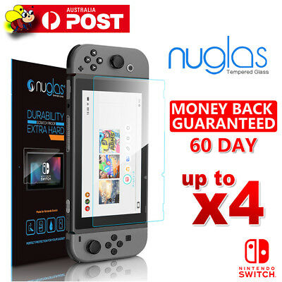 For Nintendo Switch Nuglas Tempered Glass Screen Protector Film Guard Sheet