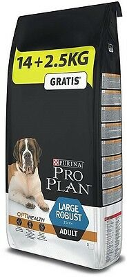 purina pro plan adult large robust 14 kg + 2.5 kg in omaggio