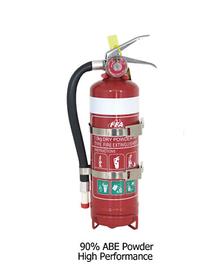 High Performance 1kg ABE Dry Chemical Powder Fire Extinguisher + Service Tag