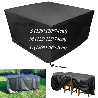UK Waterproof Garden Patio Furniture Cover Covers for Rattan Table Cube Outdoor