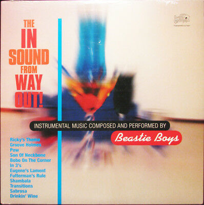 THE BEASTIE BOYS The In Sound From Way Out Vinyl LP 2017 NEW & SEALED