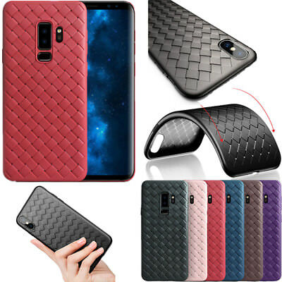 Ultra Thin Shockproof Silicone Gel Case Cover For Samsung Galaxy S9 S8 Plus